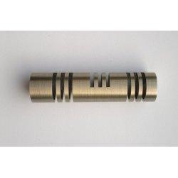 Finial Hightec antique brass